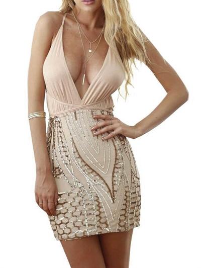 Image of   Fest kjole