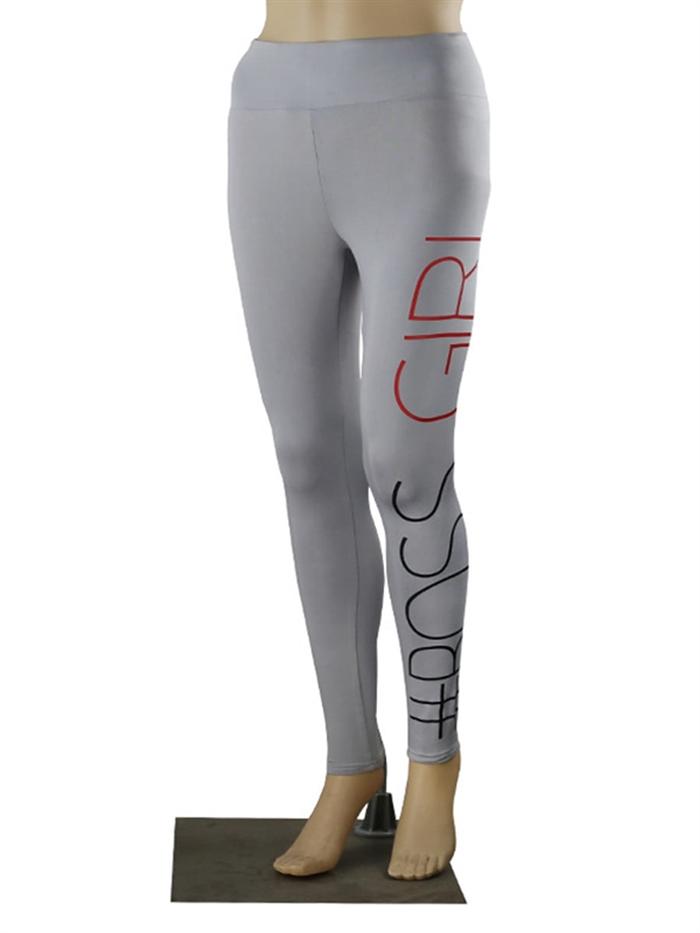 Image of   Grå Boss girl leggings