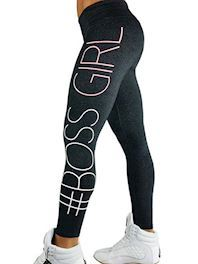 Sort Boss girl leggings