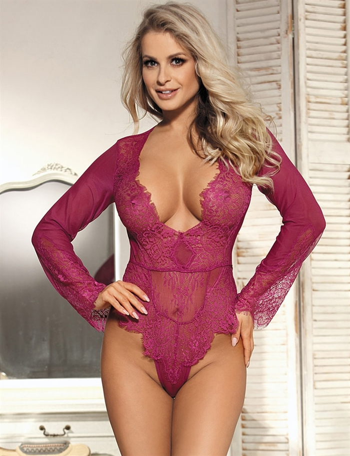 Image of   Body Exquisite Lace, Rosa