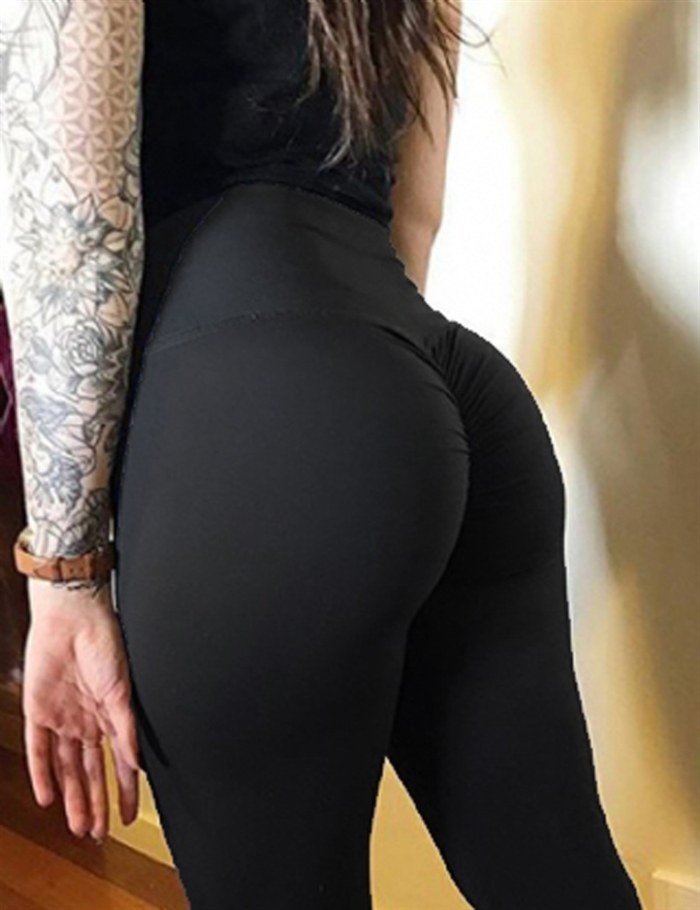Sort Booty Leggings