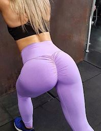 Lilla Booty Leggings