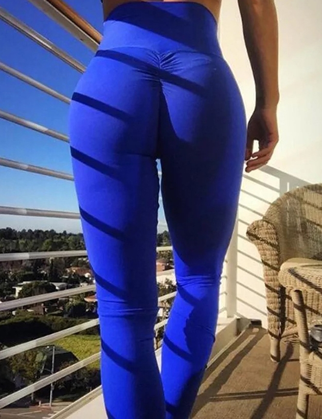 Image of   Blå Booty Leggings