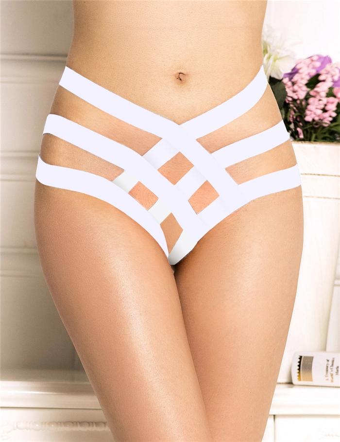 Image of   Hvid Bandage Brief trusser