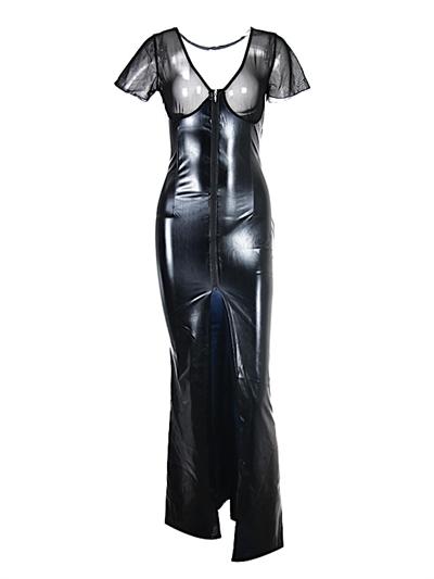 Lang Wetlook kjole