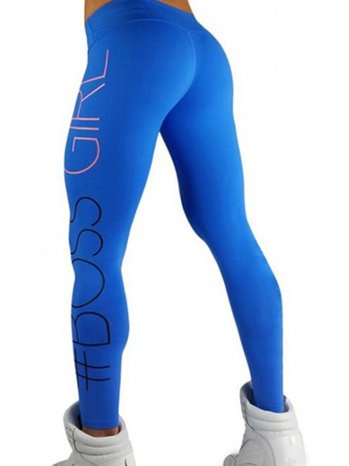 Image of   Blå Boss girl leggings
