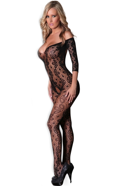 Image of   Decollete Bodystocking