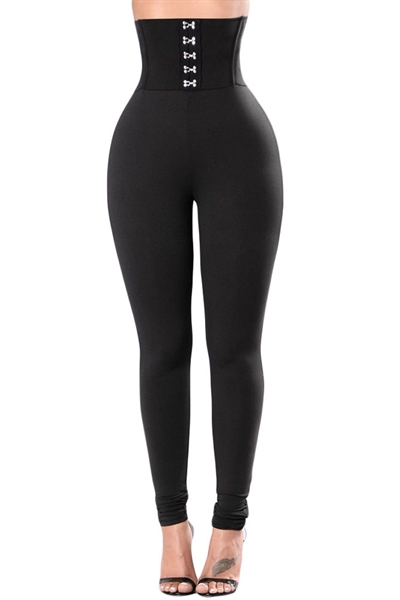 Image of Corset Belt Leggings