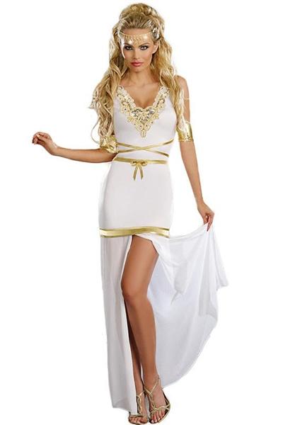 Image of   Græsk gudinde kostume