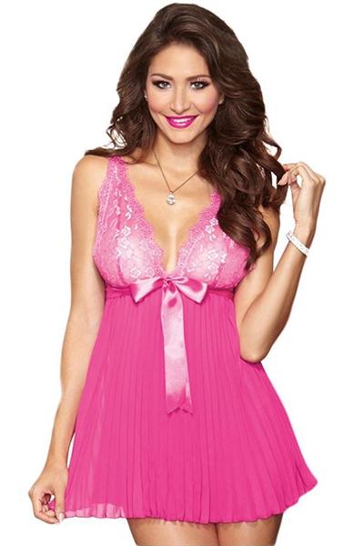 Image of   Bryllups lingeri kjole