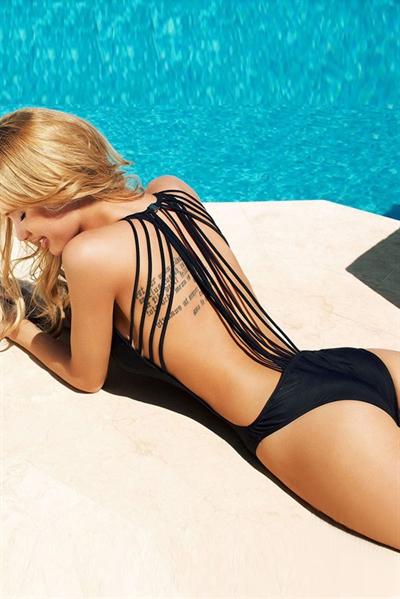Image of   Sexy black Monokini