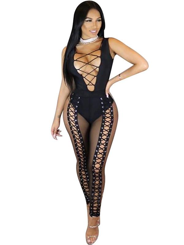Image of   Fancy bodysuit, Sort