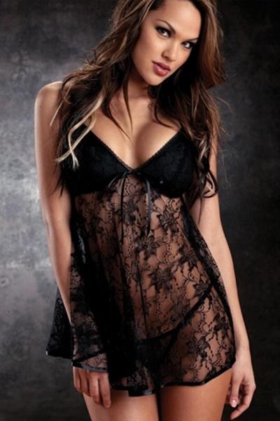 Image of   Babydoll Lingeri kjole