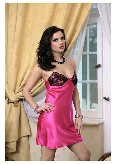 Pink Agnes chemise natkjole